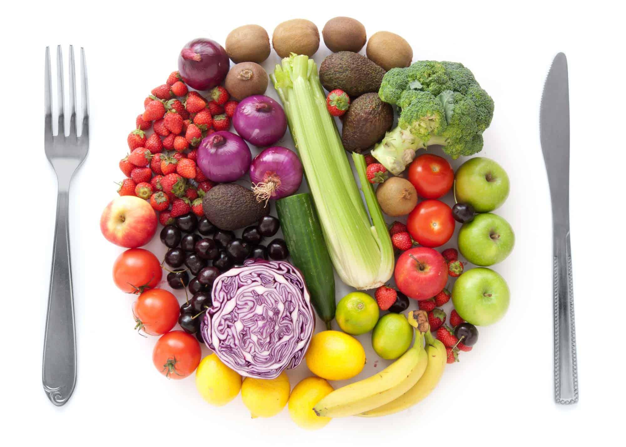 plate-fruit