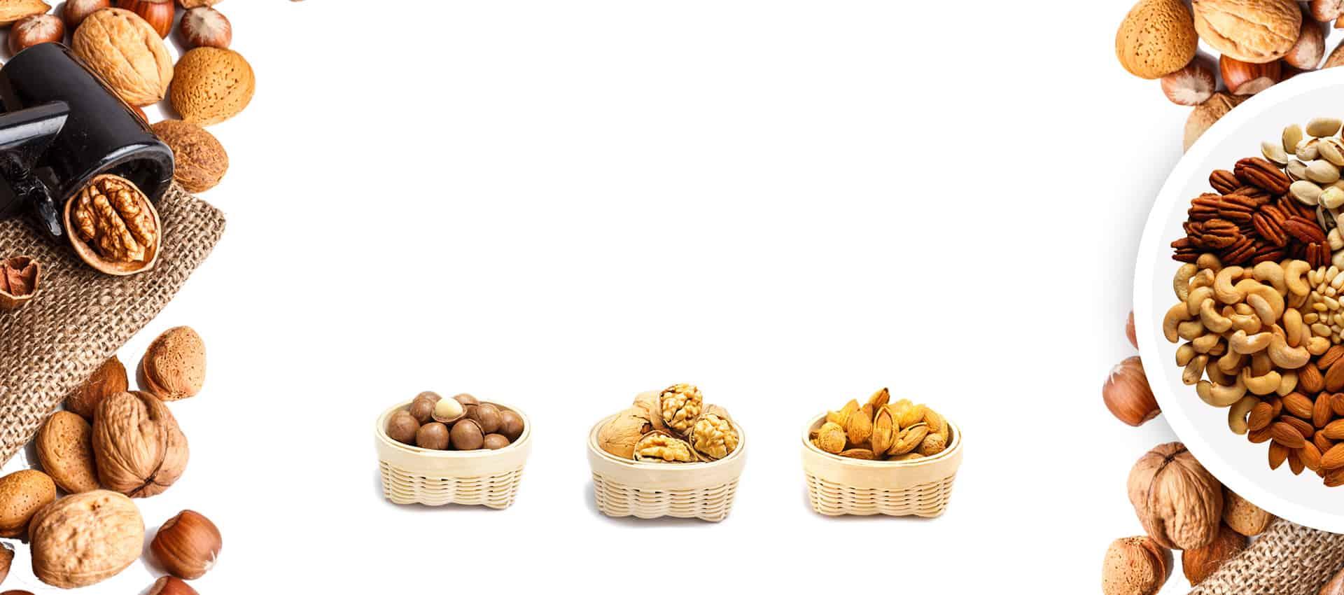 Almonds-Walnuts