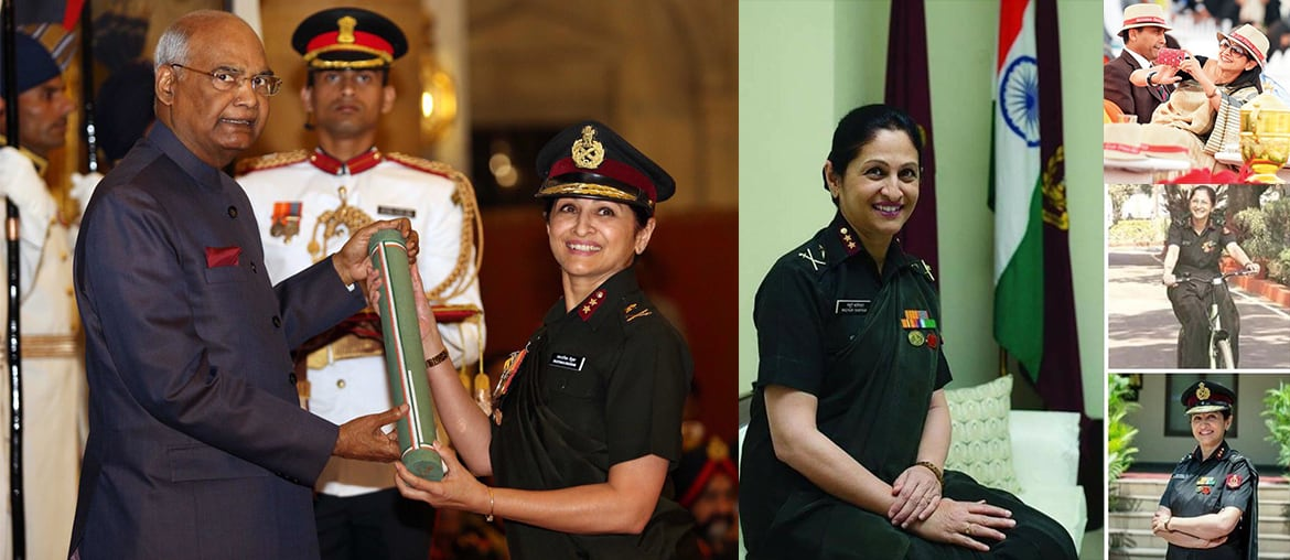 Major General Madhuri Kanitkar