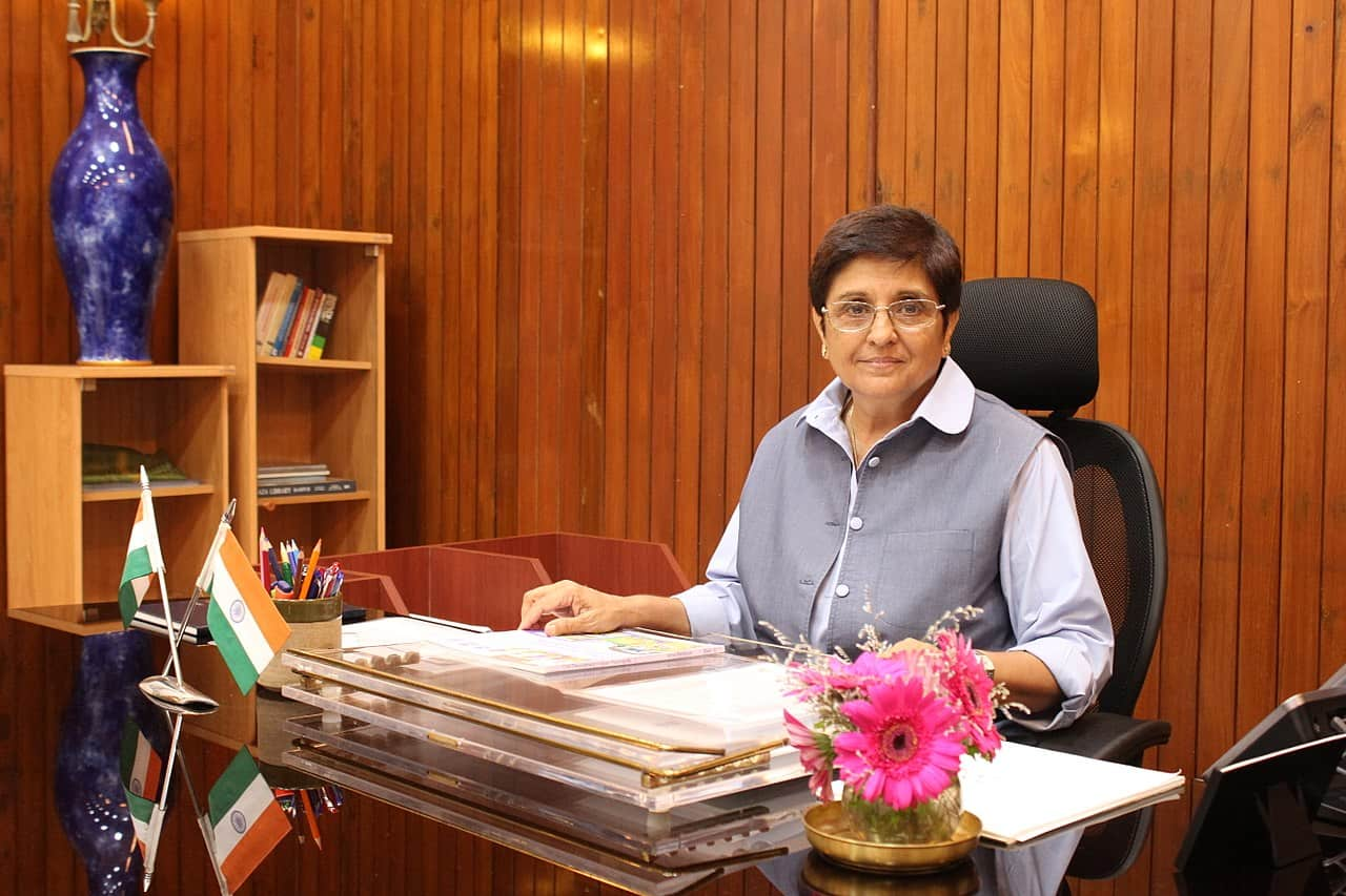 Kiran Bedi- A force to reckon with!