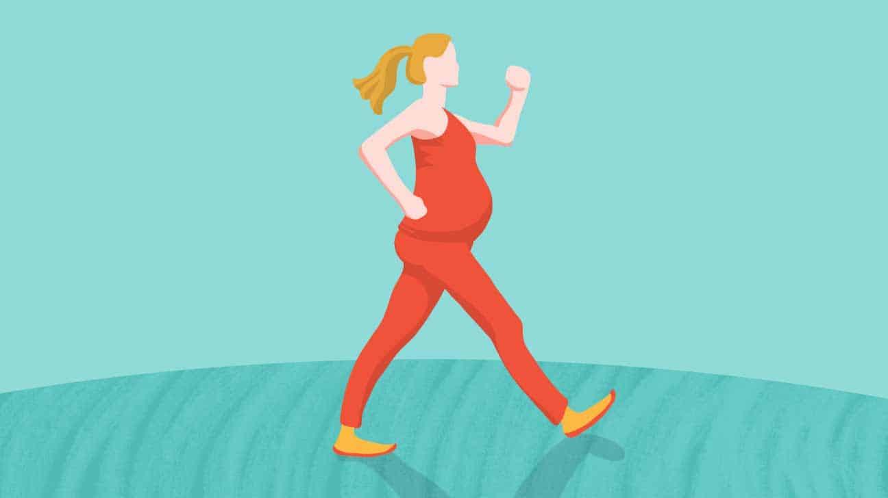 Pregnancy-walking