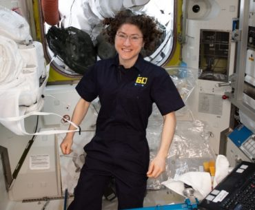 Christina Koch breaks record for longest female space Mission